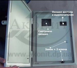 Антивандальный щит ЩРА-3-4к